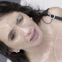 Linda Black #1 - Bukkake - Behind The Scenes