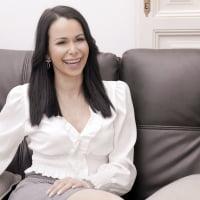 Jessy Jey #1 - Interview before Bukkake