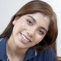 Marina Gold #2 - Interview before Bukkake