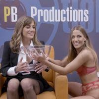 Silvia Dellai #2 - Interview before Bukkake